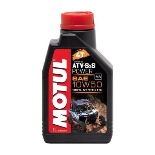 Моторное масло синтетическое Motul ATV SXS Power 4T 10W50(1 литр)