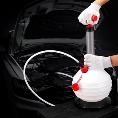 Ручной насос Kemimoto для откачки масла для авто/багги/квадроцикла 6литров B1201- 02901WH