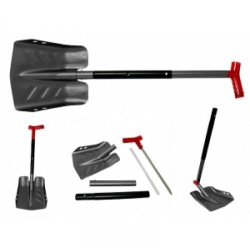 Лопата снегоходная SPI с пилой и телескопической ручкой SC-12500BK