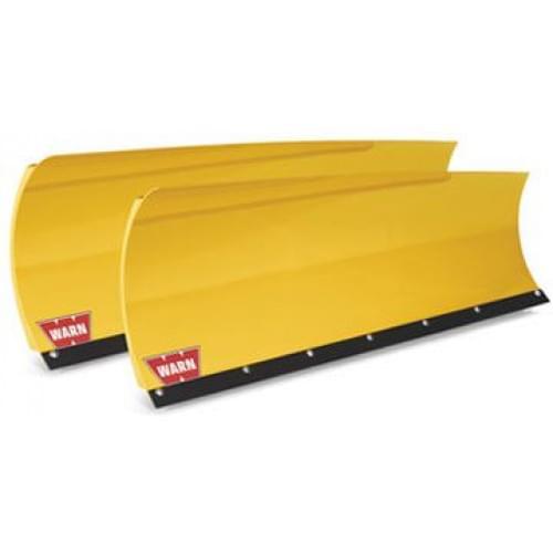 Полный комплект снегоотвала Warn желтый со скосом (150см) для ATV